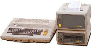 ATARI 800 with Floppy Disk Drives