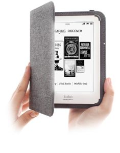 KOBO e-reader with cover