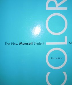 The Munsell Student Colour Set - the colour system I use