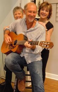 Jamie Sherman with Wendie & Janice