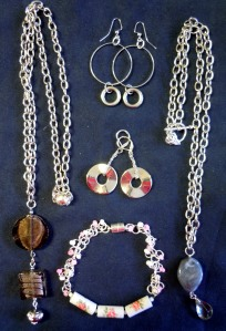Jewellery from Recycled Materials