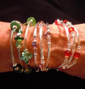 Crystal Memory Bracelets