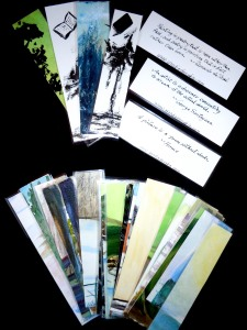 Inspirational Bookmarks from Watercolour & Ink Paintings