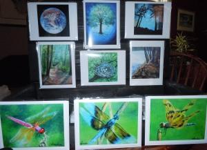 Blank Notecards from Original Paintings
