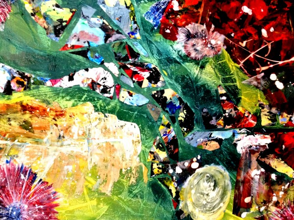 Dreamland, Acrylic Skins, 18 x 24 inches Copyright '4' - Wendie Donabie, Janice Feist, Lynda Lynn, Pat Whittle